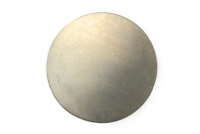 "Metal Discs -- Nickel Silver - 1/2"" (package of 10)"