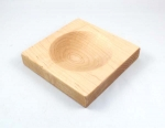 Large Wood Dapping Block with 1 Depression