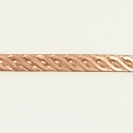 Rope Braid Copper Pattern Wire - 3 Feet