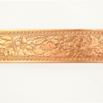 Wide Fancy Floral Copper Pattern Wire - 3 Feet