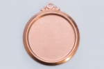 Metal Shapes - Copper Framed Circle (PKG 6)