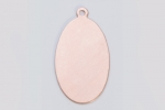 Metal Shapes - Copper Wide Oval (PKG 6)