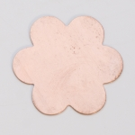 Metal Shapes - Copper 6 Petal Flower (PKG 6)