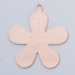 Metal Shapes - Copper 5 Petal Flower (PKG 6)