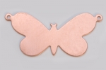 Metal Shapes - Copper Butterfly with 2 Rings (PKG 6)