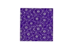 "Lillypilly - Purple Daisies - 3x3"" Sheet"