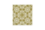 "Lillypilly - Snowflake Gold - 3x3"" Sheet"