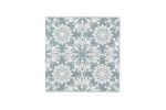 "Lillypilly - Snowflake Silver - 3x3"" Sheet"