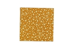 "Lillypilly - Orange Tangerine Dots - 3x3"" Sheet"