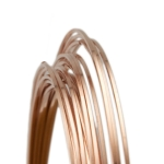 Rose Gold Filled Square Wire, Dead Soft--24 gauge