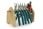 Classic Wubbers--Pro Set of Five with Heavy Duty Cutter & Wooden Stand