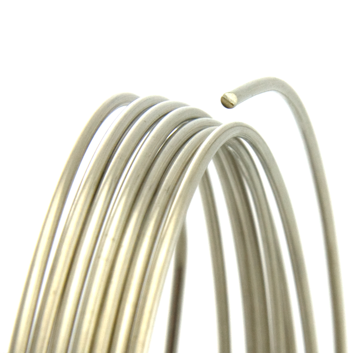 Nickel silver round wire half hard 21 gauge wired up beads nickel silver round wire half hard 21 gauge wired up beads jewelry making supplies wubbers pliers greentooth Image collections